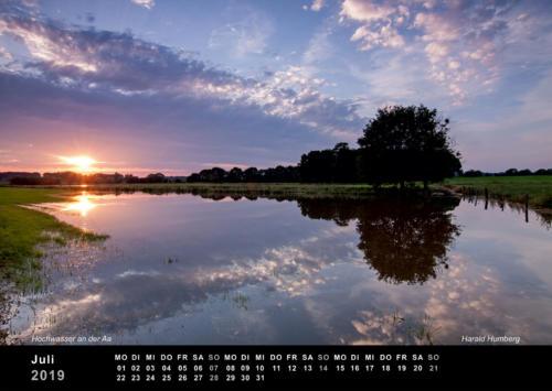 07 Harald Humberg• Hochwasser der Aa in Schonebeck
