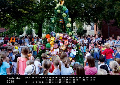 09 Paul Ottmann• Lambertussingen auf dem Pantaleonplatz